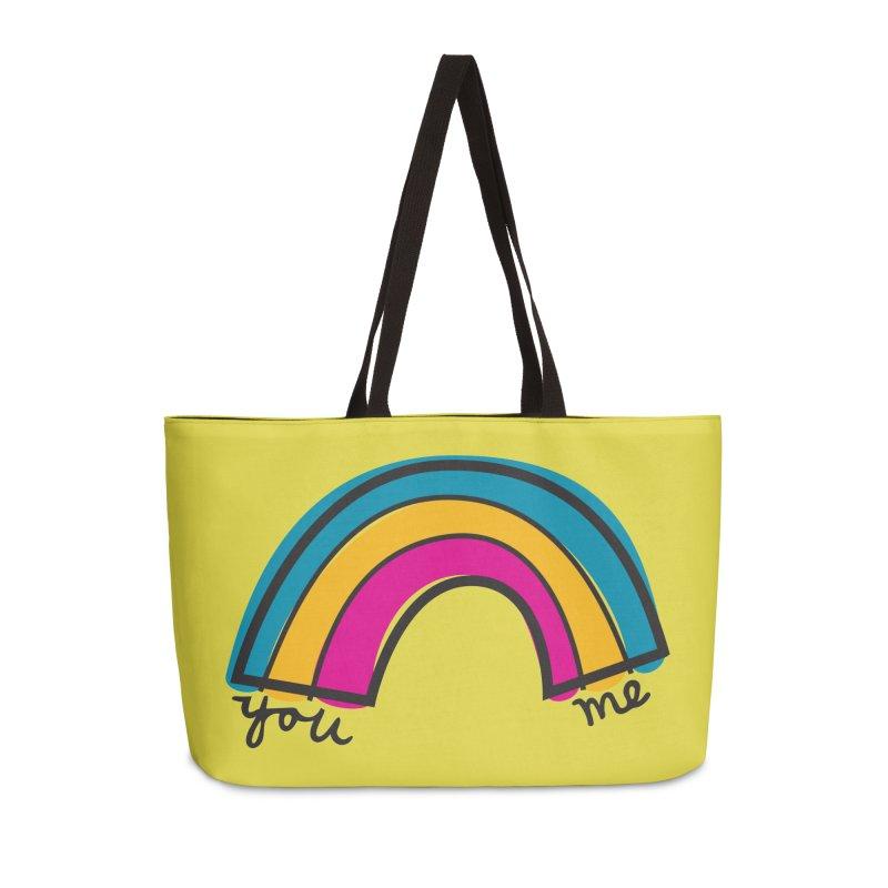 You Me Rainbow Accessories Weekender Bag Bag by \\ LOVING RO<3OT .boop.boop.