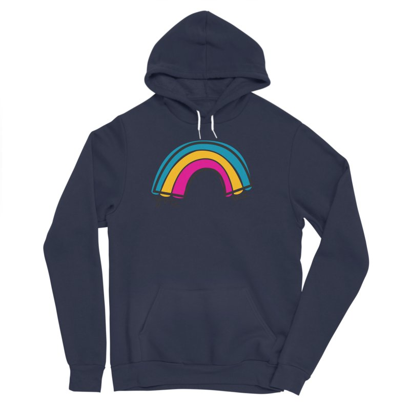 You Me Rainbow Women's Sponge Fleece Pullover Hoody by \\ LOVING RO<3OT .boop.boop.