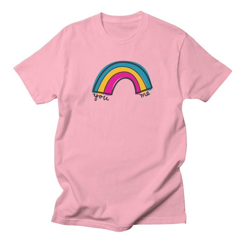 You Me Rainbow Women's Regular Unisex T-Shirt by \\ LOVING RO<3OT .boop.boop.