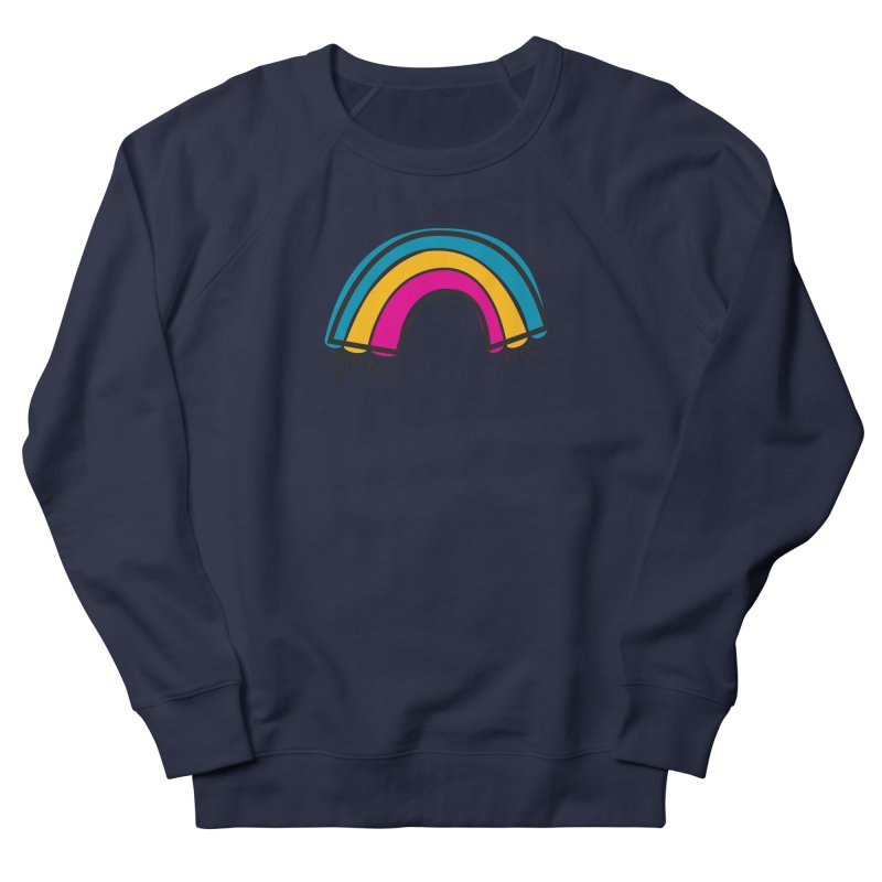 You Me Rainbow Men's French Terry Sweatshirt by \\ LOVING RO<3OT .boop.boop.