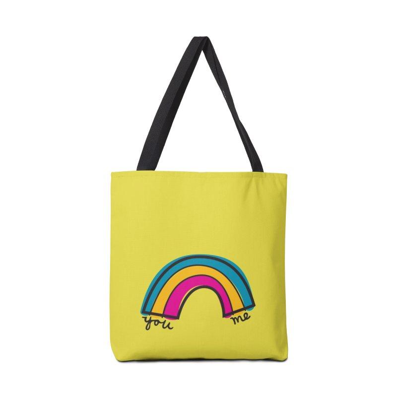 You Me Rainbow Accessories Tote Bag Bag by \\ LOVING RO<3OT .boop.boop.