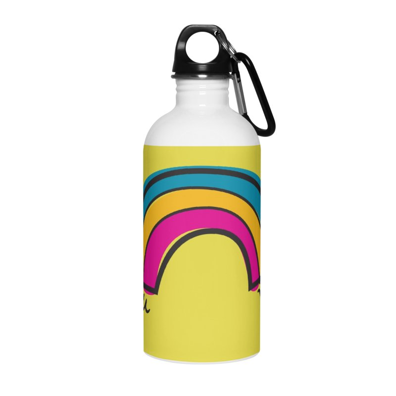 You Me Rainbow Accessories Water Bottle by \\ LOVING RO<3OT .boop.boop.