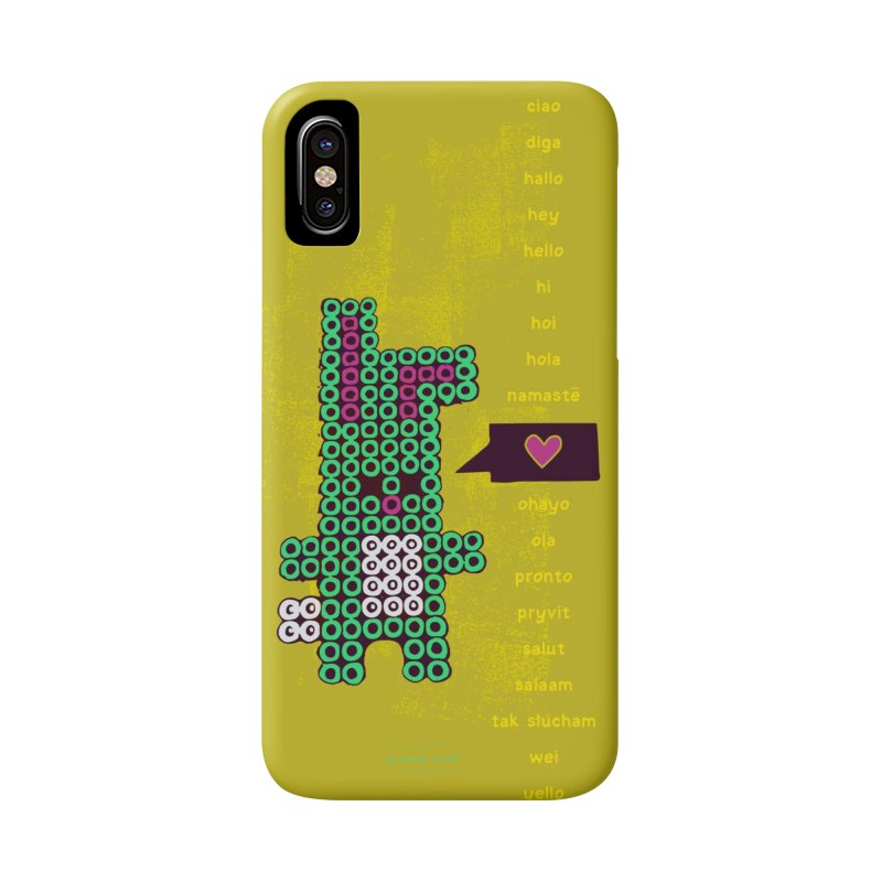 HelloRabbit Accessories Phone Case by \\ LOVING RO<3OT .boop.boop.