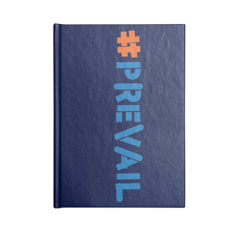 #prevail (vertical) Accessories Lined Journal Notebook by \\ LOVING RO<3OT .boop.boop.