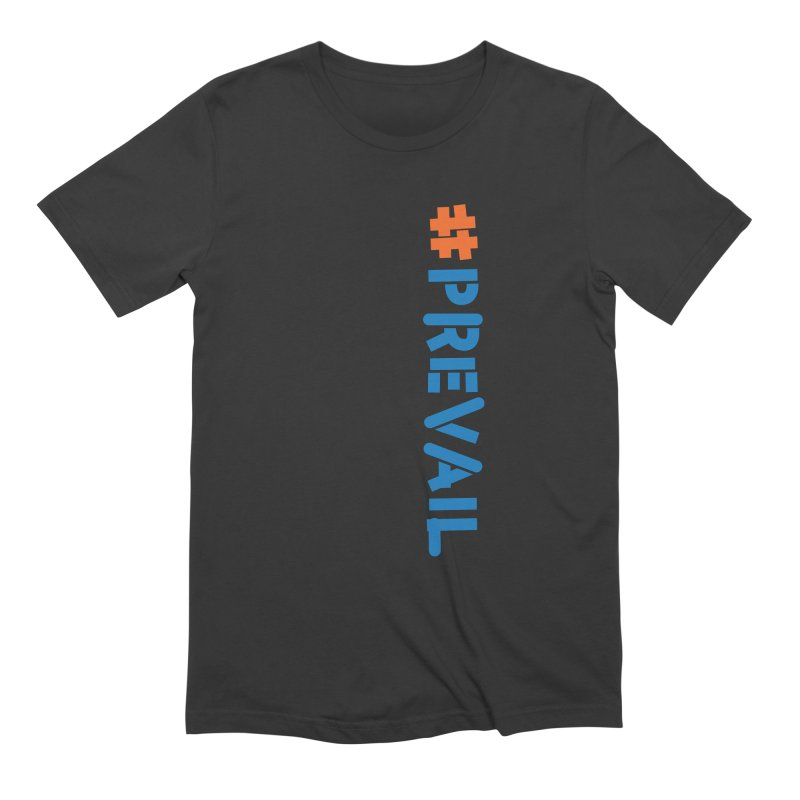 #prevail (vertical) Men's Extra Soft T-Shirt by \\ LOVING RO<3OT .boop.boop.