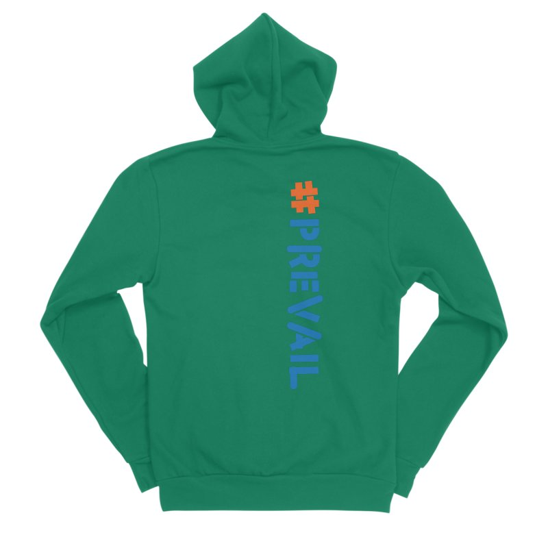 #prevail (vertical) Women's Sponge Fleece Zip-Up Hoody by \\ LOVING RO<3OT .boop.boop.