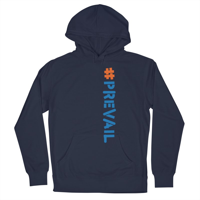 #prevail (vertical) Women's French Terry Pullover Hoody by \\ LOVING RO<3OT .boop.boop.