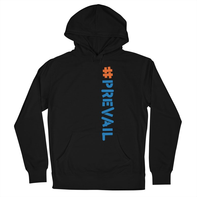#prevail (vertical) Men's French Terry Pullover Hoody by \\ LOVING RO<3OT .boop.boop.