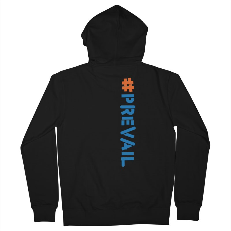 #prevail (vertical) Women's French Terry Zip-Up Hoody by \\ LOVING RO<3OT .boop.boop.
