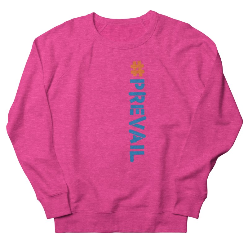 #prevail (vertical) Men's French Terry Sweatshirt by \\ LOVING RO<3OT .boop.boop.