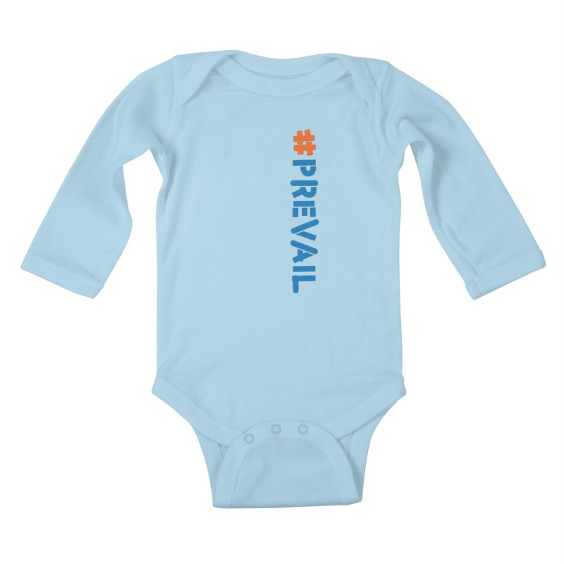 #prevail (vertical) Kids Baby Longsleeve Bodysuit by \\ LOVING RO<3OT .boop.boop.