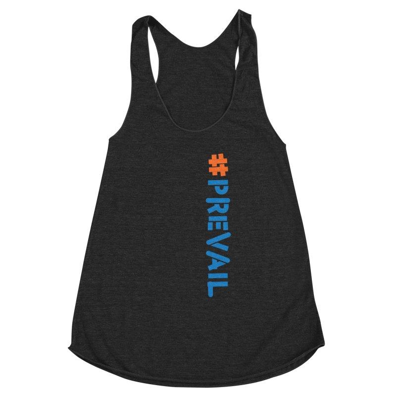 #prevail (vertical) Women's Racerback Triblend Tank by \\ LOVING RO<3OT .boop.boop.