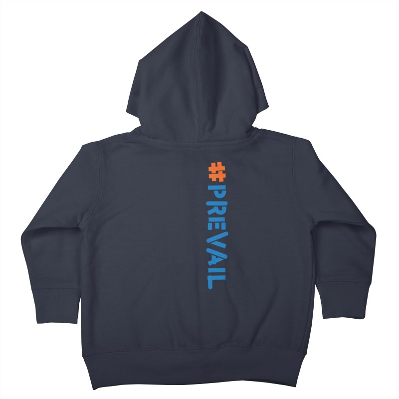 #prevail (vertical) Kids Toddler Zip-Up Hoody by \\ LOVING RO<3OT .boop.boop.