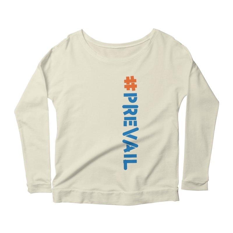 #prevail (vertical) Women's Scoop Neck Longsleeve T-Shirt by \\ LOVING RO<3OT .boop.boop.