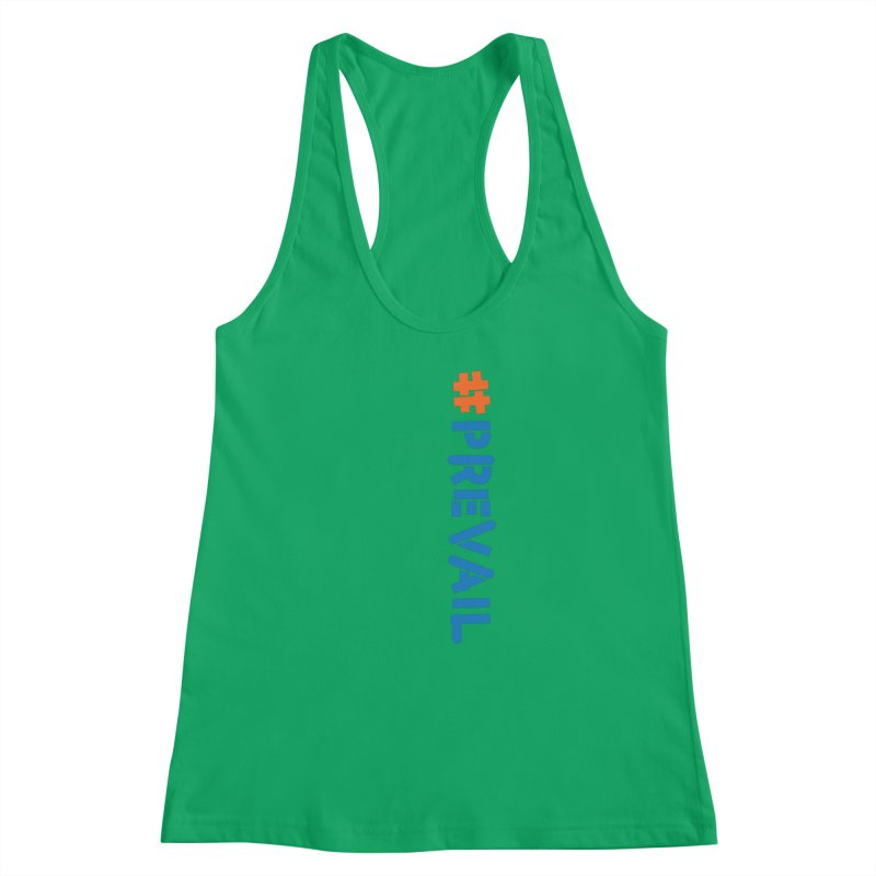 #prevail (vertical) Women's Racerback Tank by \\ LOVING RO<3OT .boop.boop.