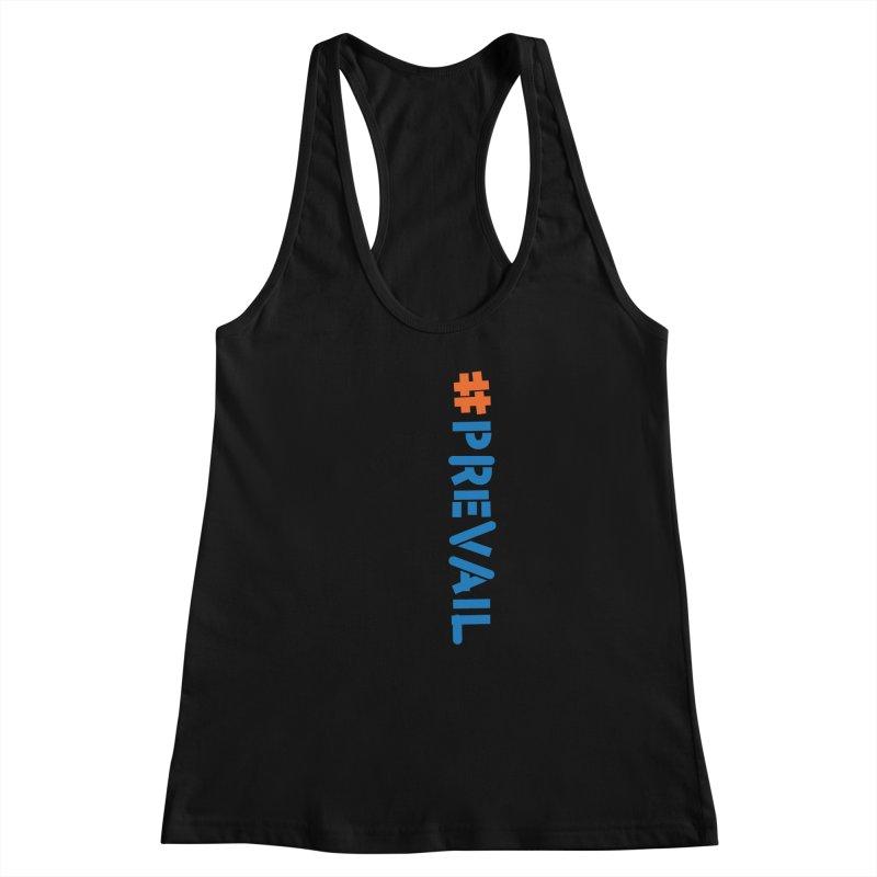 #prevail (vertical) Women's Racerback Tank by \\ LOVING RO<3OT .boop.boop.