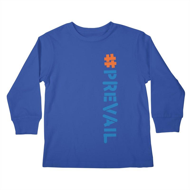 #prevail (vertical) Kids Longsleeve T-Shirt by \\ LOVING RO<3OT .boop.boop.