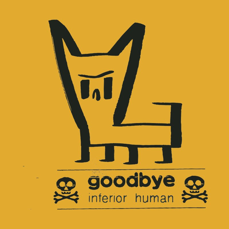 goodbye, inferior human (one color) Women's V-Neck by \\ LOVING RO<3OT .boop.boop.