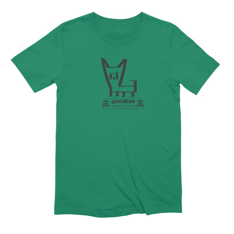 goodbye, inferior human (one color) Men's Extra Soft T-Shirt by \\ LOVING RO<3OT .boop.boop.