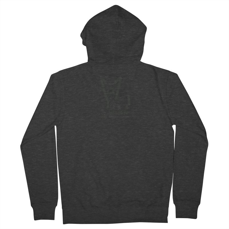 goodbye, inferior human (one color) Men's French Terry Zip-Up Hoody by \\ LOVING RO<3OT .boop.boop.