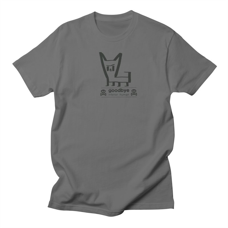 goodbye, inferior human (one color) Men's T-Shirt by \\ LOVING RO<3OT .boop.boop.