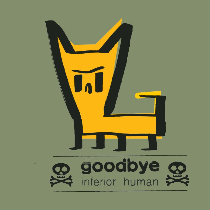 goodbye, inferior human (two color) by \\ LOVING RO<3OT .boop.boop.
