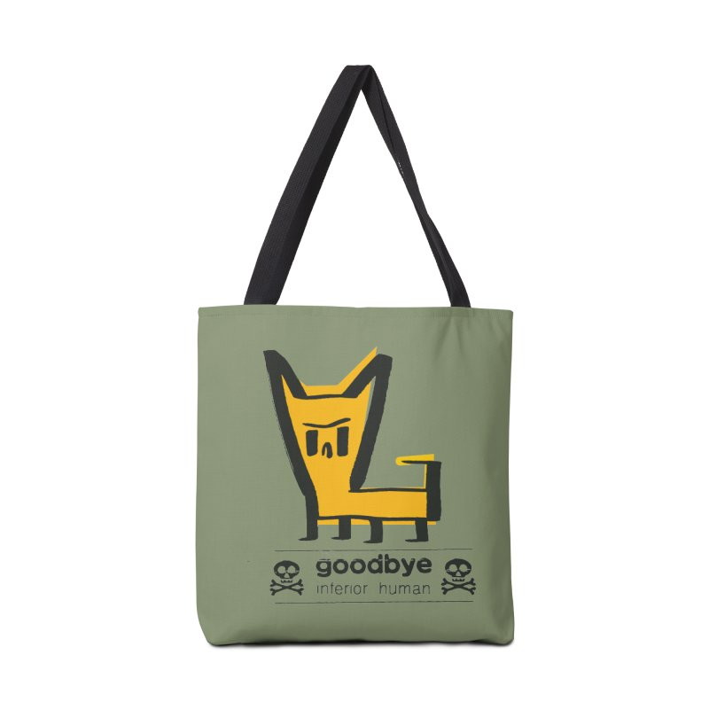 goodbye, inferior human (two color) Accessories Tote Bag Bag by \\ LOVING RO<3OT .boop.boop.