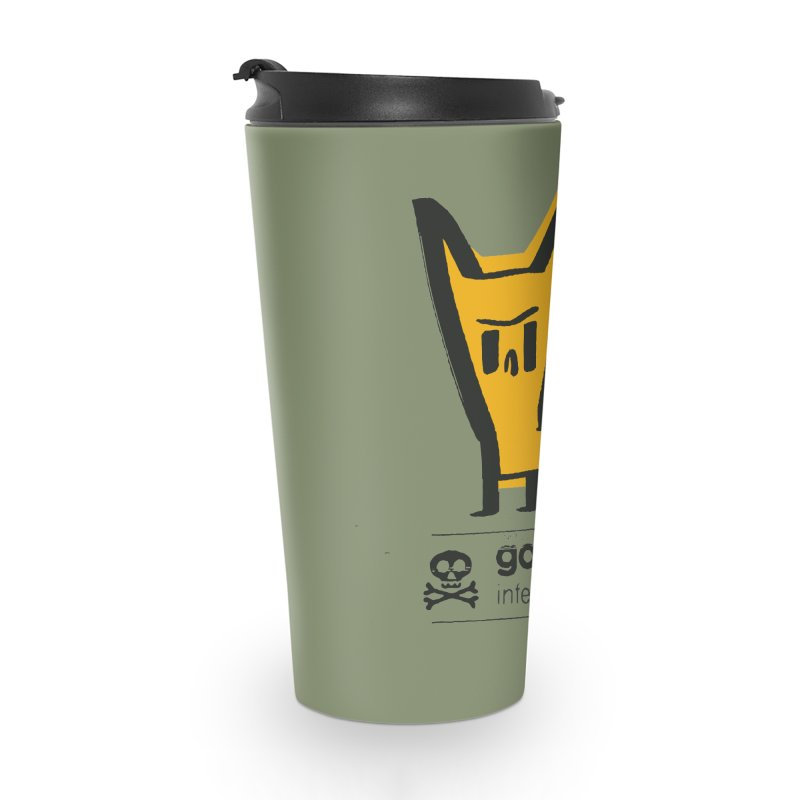 goodbye, inferior human (two color) Accessories Travel Mug by \\ LOVING RO<3OT .boop.boop.