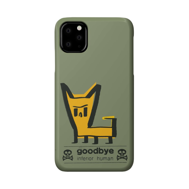 goodbye, inferior human (two color) Accessories Phone Case by \\ LOVING RO<3OT .boop.boop.