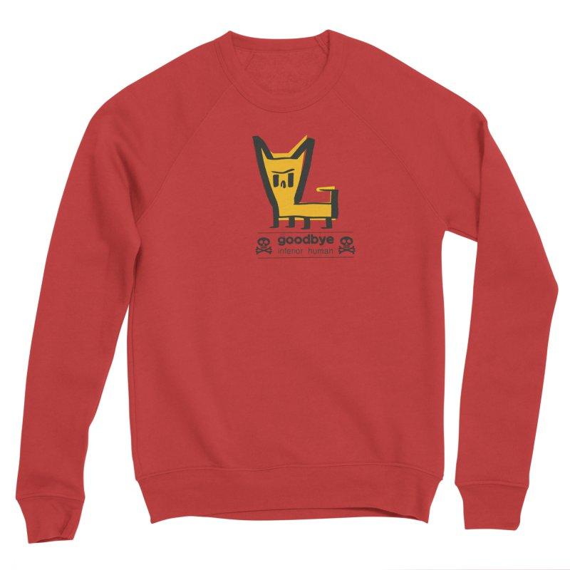 goodbye, inferior human (two color) Men's Sponge Fleece Sweatshirt by \\ LOVING RO<3OT .boop.boop.