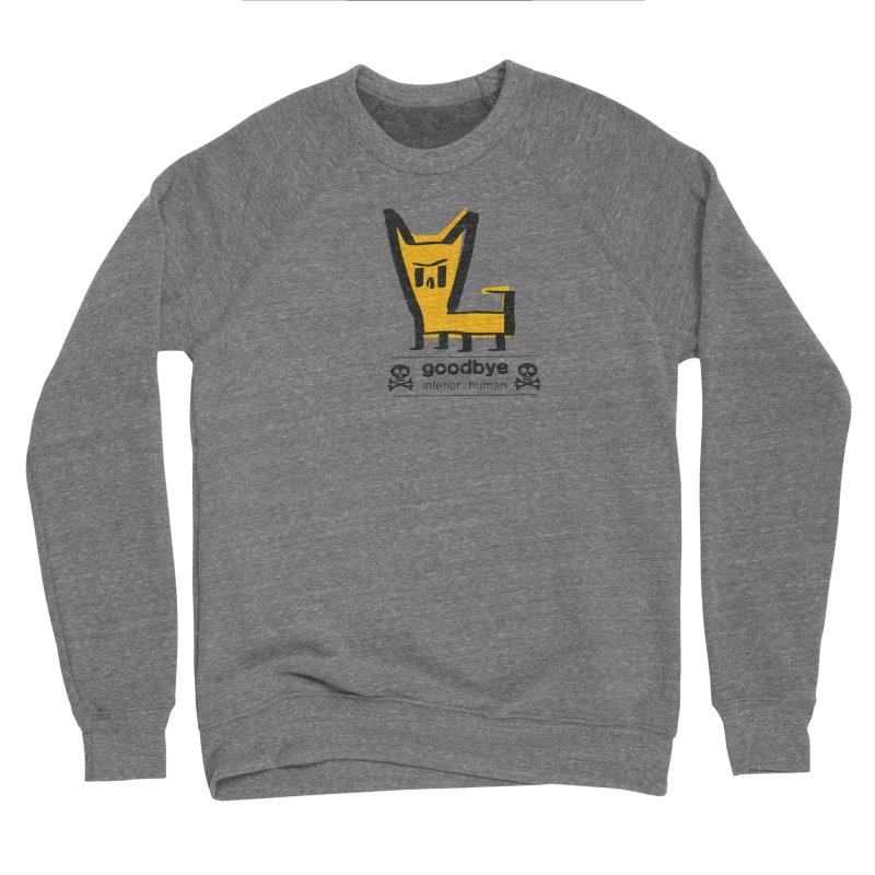 goodbye, inferior human (two color) Women's Sponge Fleece Sweatshirt by \\ LOVING RO<3OT .boop.boop.