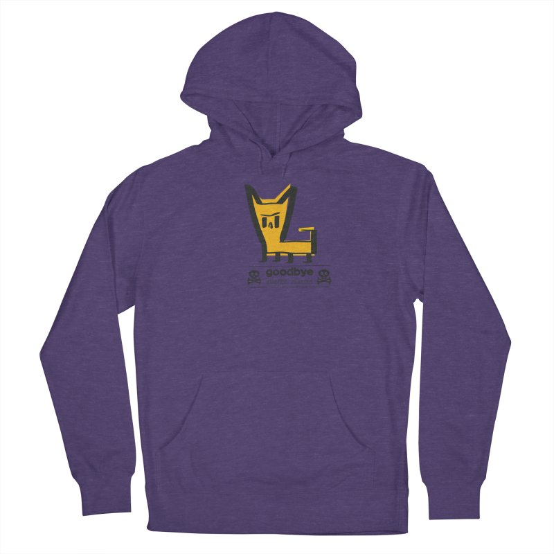 goodbye, inferior human (two color) Women's French Terry Pullover Hoody by \\ LOVING RO<3OT .boop.boop.