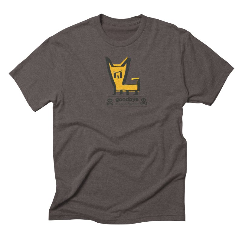 goodbye, inferior human (two color) Men's Triblend T-Shirt by \\ LOVING RO<3OT .boop.boop.