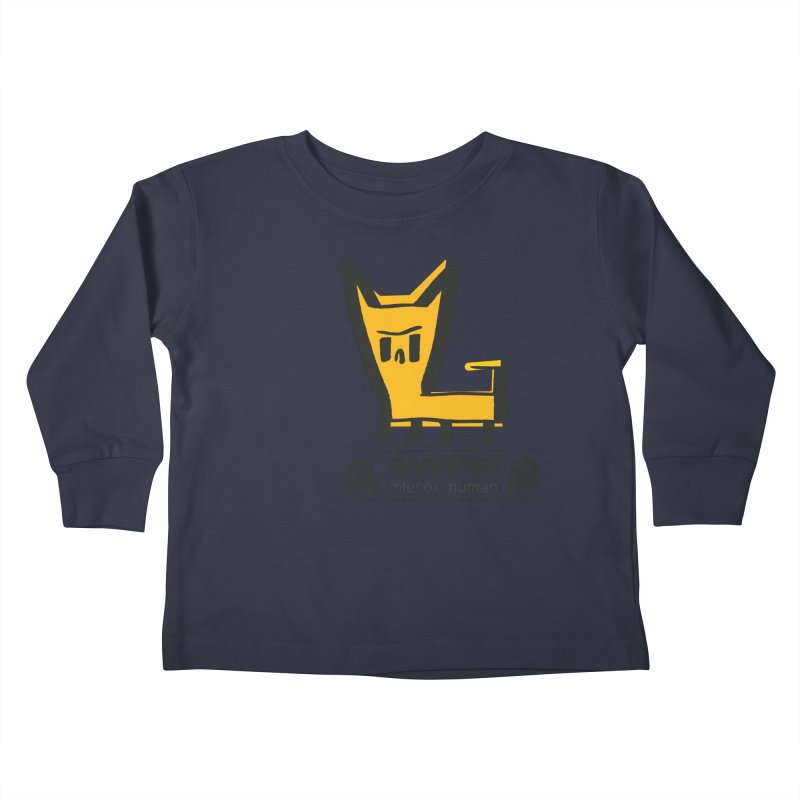 goodbye, inferior human (two color) Kids Toddler Longsleeve T-Shirt by \\ LOVING RO<3OT .boop.boop.