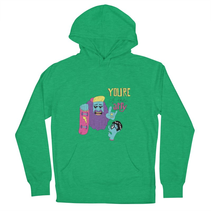 The Half-Baked Prince Women's Pullover Hoody by Lowest Common Denominator