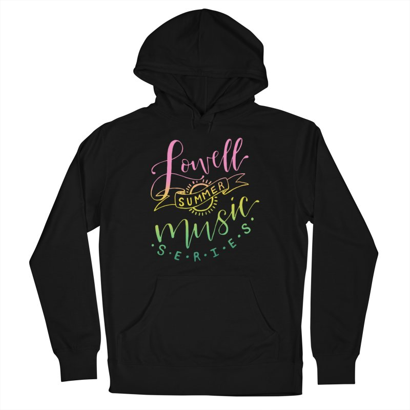 Script Rainbow Women's Pullover Hoody by lowellsummermusic's Artist Shop