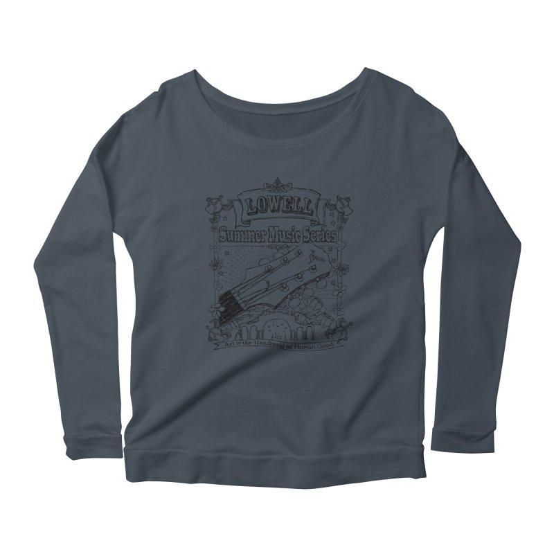Rustic Black Women's Longsleeve T-Shirt by lowellsummermusic's Artist Shop