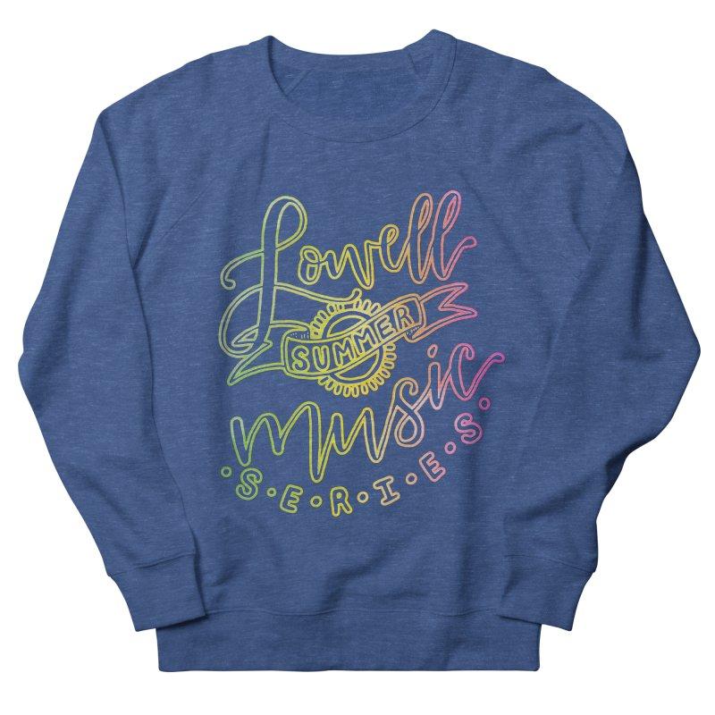 Script Glow Men's Sweatshirt by lowellsummermusic's Artist Shop
