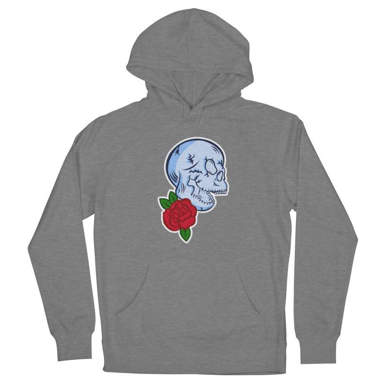 Skull Rose Women's Pullover Hoody by lowpolyart's Artist Shop
