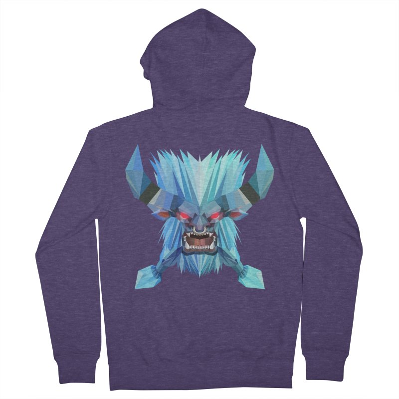 Low Poly Art - Spirit Breaker Men's Zip-Up Hoody by lowpolyart's Artist Shop