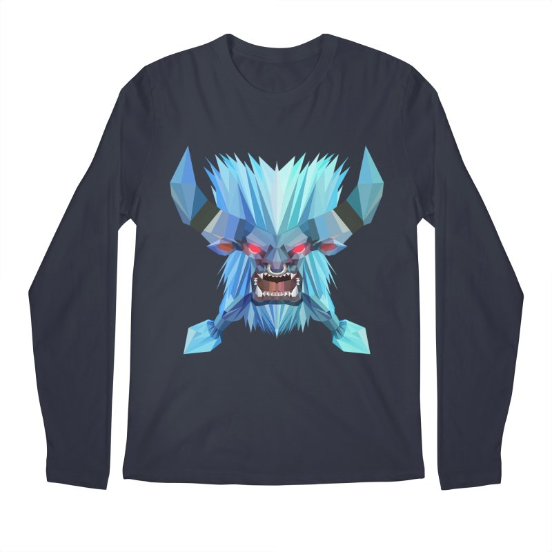 Low Poly Art - Spirit Breaker Men's Longsleeve T-Shirt by lowpolyart's Artist Shop