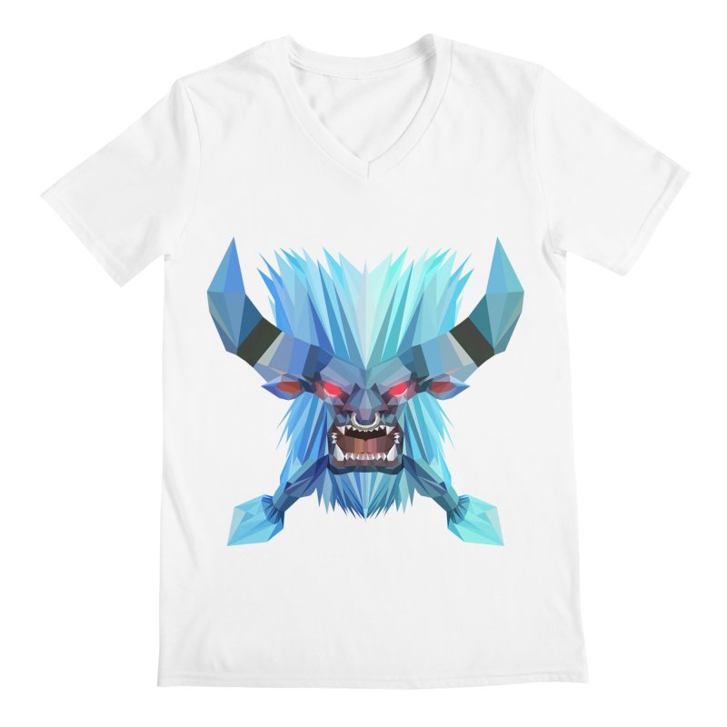 Low Poly Art - Spirit Breaker Men's V-Neck by lowpolyart's Artist Shop