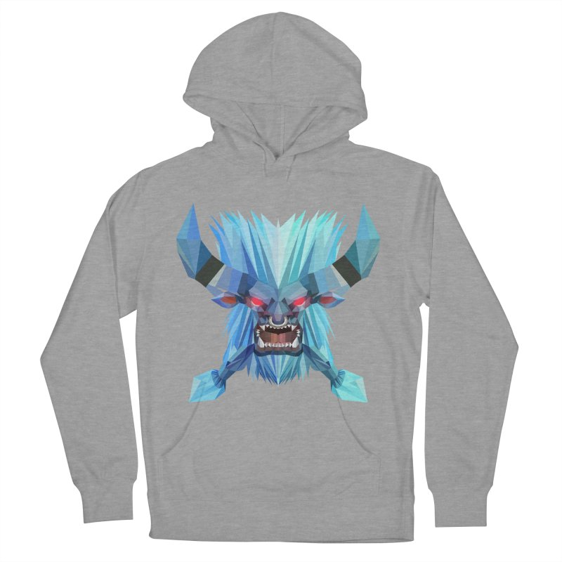 Low Poly Art - Spirit Breaker Men's French Terry Pullover Hoody by lowpolyart's Artist Shop