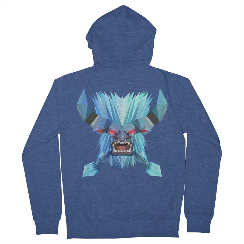 Low Poly Art - Spirit Breaker Women's French Terry Zip-Up Hoody by lowpolyart's Artist Shop