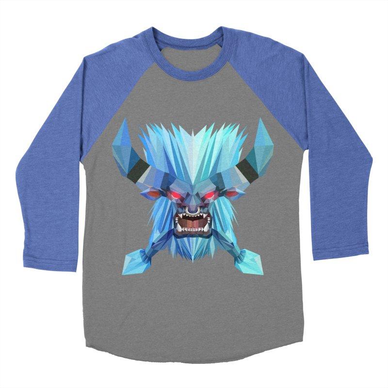 Low Poly Art - Spirit Breaker Women's Baseball Triblend Longsleeve T-Shirt by lowpolyart's Artist Shop