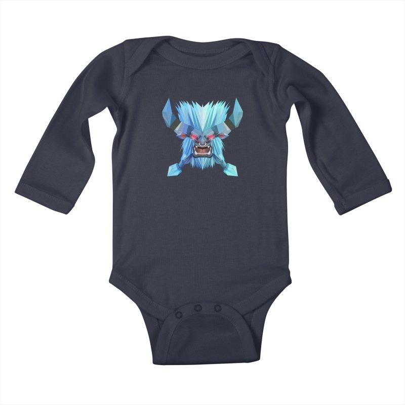 Low Poly Art - Spirit Breaker Kids Baby Longsleeve Bodysuit by lowpolyart's Artist Shop