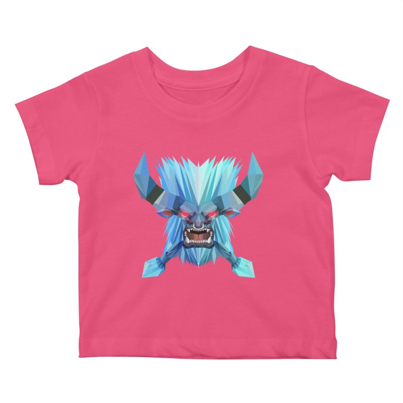 Low Poly Art - Spirit Breaker Kids Baby T-Shirt by lowpolyart's Artist Shop