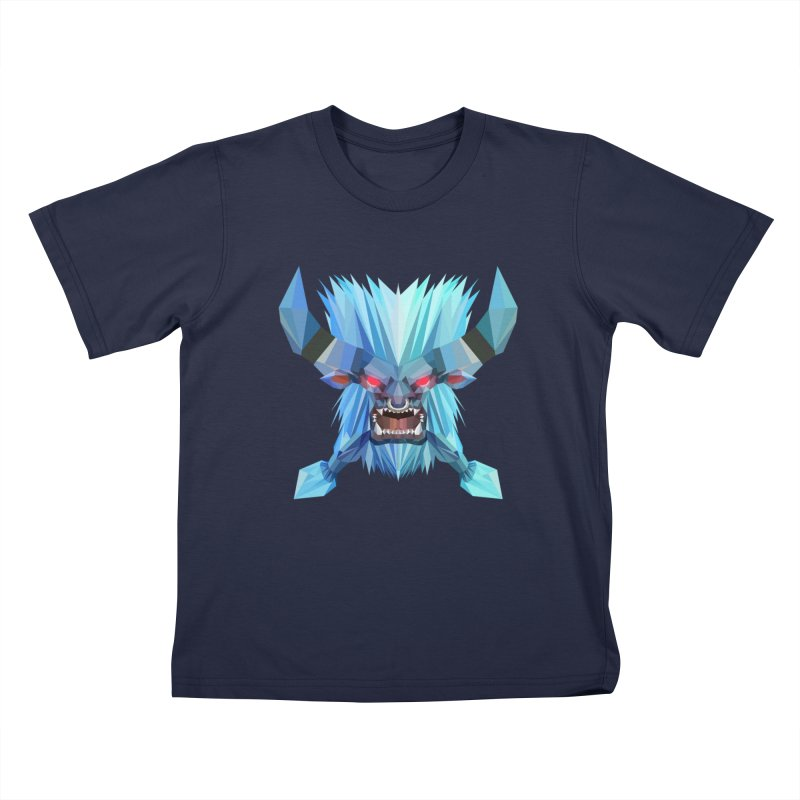 Low Poly Art - Spirit Breaker Kids T-Shirt by lowpolyart's Artist Shop