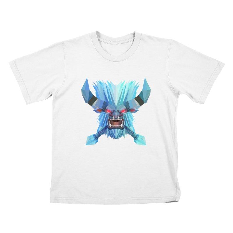 Low Poly Art - Spirit Breaker Kids T-Shirt by lowpolyart's Artist Shop