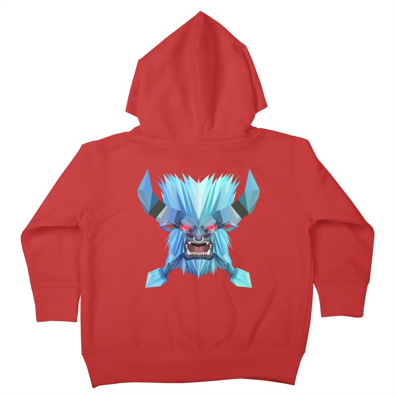 Low Poly Art - Spirit Breaker Kids Toddler Zip-Up Hoody by lowpolyart's Artist Shop